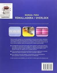 manual para remalladora overlock amazon es julia hincks libros