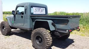 jeep wrangler custom 2 door frankenbrute also