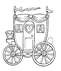 horse and carriage coloring pages glum me