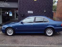 used bmw cars uk used bmw 5 series 2000 petrol 525i se 4dr saloon blue manual for