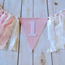 vintage inspired banner birthday decor from banners away etsy