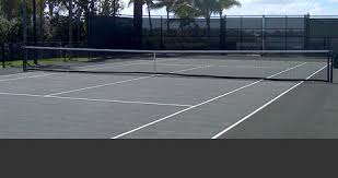 professional tennis court construction and supply experts fast