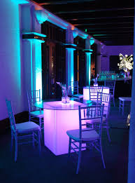 cocktail table rentals seated glow cocktail table table rentals orlando