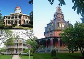 octagon houses a unique style popular in the 1850s in the usa