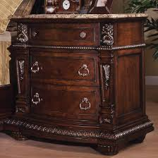 Cherry Nightstand With Drawers Davis Direct Coventry Traditional 3 Drawer Night Stand With