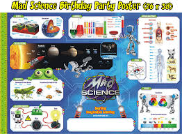 birthday parties mad science bay area