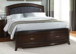 bedroom entranching dark wood queen bed frame design founded