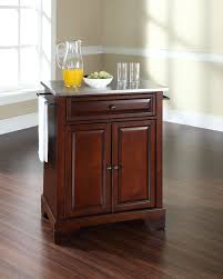 crosley furniture kitchen island crosley furniture lafayette stainless steel top portable kitchen