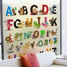 Decal Tattoo Picture More Detailed Picture About Alphabet Wall - Alphabet wall decals for kids rooms