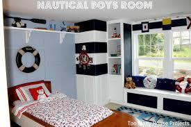 Boys Bookshelves Too Many House Projects A Nautical Big Boy Room