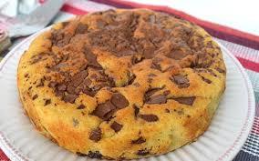 cuisine avec les restes gâteau avec restes de chocolats de pâques au thermomix