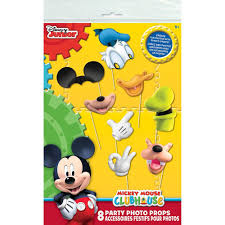 mickey mouse photo booth props mickey mouse clubhouse photo booth props 8pc toys