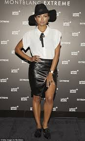 Kristen Ledlow Nude - the vire diaries kat graham in mini skirt at fashion event in
