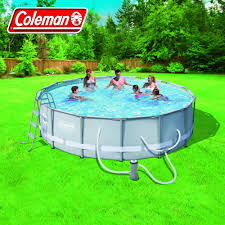 Intex Pool 14x42 Coleman Power Steel 14 U0027 X 42