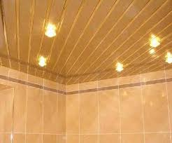 bathroom ceiling ideas metal ceiling designs for modern bathroom and kitchen interiors