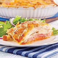 cuisine gratin dauphinois gratin dauphinois aux deux pommes de terre et jambon recettes