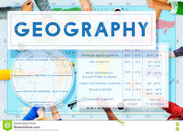 Geography Map Geography Map World Climate Details Concept Stock Illustration