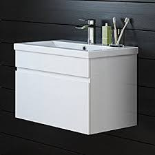 600 Vanity Unit 600 Vanity Unit With Basin For Bathroom Ensuite Cloakroom Wall