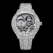 piaget tourbillon white gold diamond ultra thin tourbillon g0a37040 piaget