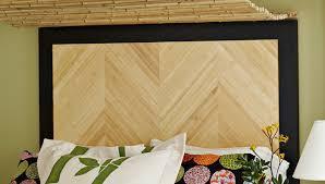 How To Make A Bamboo Headboard by Herringbone Headboard