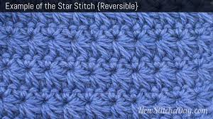 crochet pattern using star stitch the star stitch crochet stitch 92