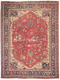 Worn Oriental Rugs Antique Seychour Oriental Rug Antrr122 Great Rugs And Textiles