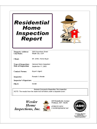 sample house inspection report sample inspection checklist template best resumes