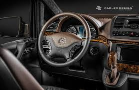 mercedes vito interior carlex design spruces up interior on 2nd gen mercedes viano