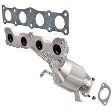 nissan titan catalytic converter accessories exhaust manifold with integrated catalytic converter