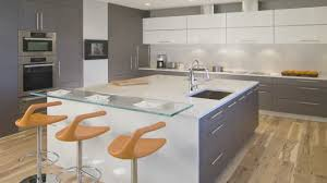 kitchen design large square island in this high end condominium