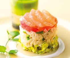 cuisiner crabe recette avec astuce de lignac timbale de crabe au plemousse