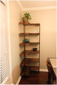 How To Decorate Floating Shelves L Shaped Corner Floating Shelf L Shaped Copper Frame Corner Trendy