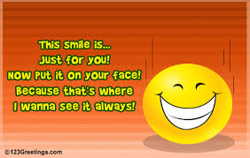 a smile for u free smile ecards greeting cards 123 greetings