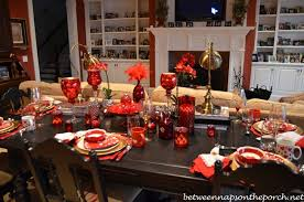 Table Decoration For Christmas Day by Valentine U0027s Day Table Setting