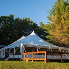 tent rentals maine high peak white wedding tents affordable events