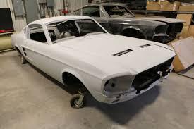 67 Mustang Black 1967 Ford Mustang Gt Fastback Body Bodies Raven Black 390 4 Speed