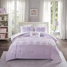 Girly Comforters Amazon Com Teen Comforter Sets Purple Lavender Lilac Bedding
