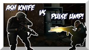 siege ump ash knife vs pulse ump rainbow six siege