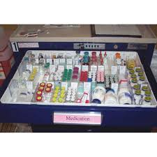 Seville Classics Office Desk Organizer by Medication Drawer Trays Newmatic Medical
