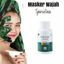 Masker Spirulina Per Butir jual masker spirulina asli tiens harga termurah