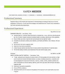 99 nursing resume examples in beaumont tx livecareer