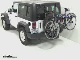 thule jeep wrangler thule apex 4 hitch bike rack review 2012 jeep wrangler