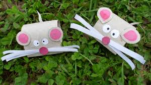 diy toilet paper roll mouse kids craft step by step