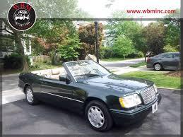 mercedes of arlington virginia 1994 mercedes e320 cabriolet 3 2l auto arlington virginia