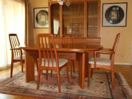 Mid Century Modern Dining Room Table And Chairs Trend Alert Mid - Danish teak dining room table and chairs