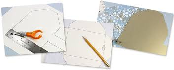 how to make your own envelope make your own patterned envelopes templates instructions