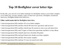 Firefighter Job Description For Resume by Top 10 Firefighter Cover Letter Tips 1 638 Jpg Cb U003d1427963943