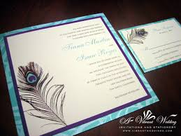 purple and blue invitation u2013 a vibrant wedding