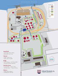 Atl Terminal Map Terminal 2 U2013 Dry Bulk Operation Colonial Terminals Inc