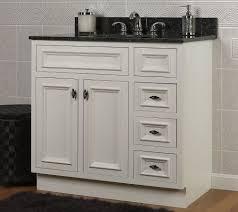 Solid Wood Bathroom Vanities Jsi Danbury White Bathroom Vanity Base 36